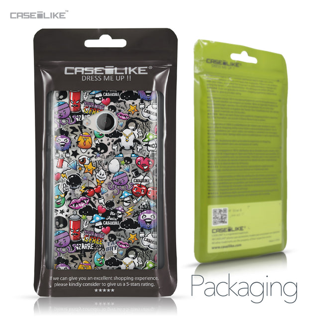 HTC U Play case Graffiti 2703 Retail Packaging | CASEiLIKE.com