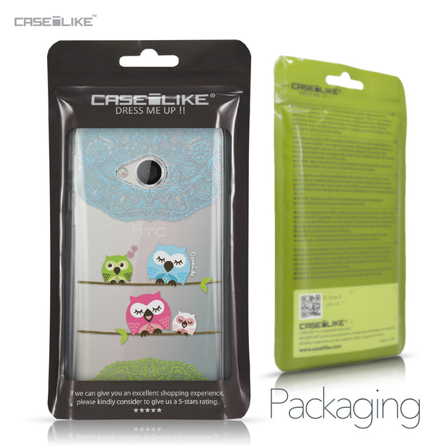 HTC U Play case Owl Graphic Design 3318 Retail Packaging | CASEiLIKE.com