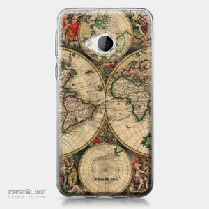 HTC U Play case World Map Vintage 4607 | CASEiLIKE.com