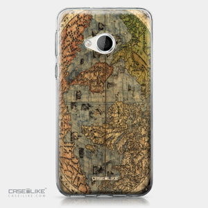 HTC U Play case World Map Vintage 4608 | CASEiLIKE.com