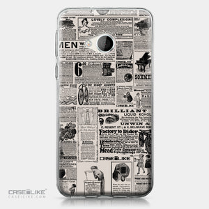 HTC U Play case Vintage Newspaper Advertising 4818 | CASEiLIKE.com
