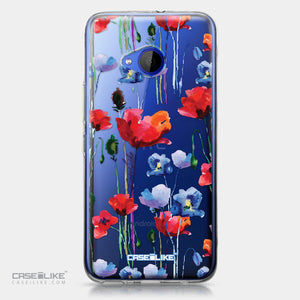 HTC U11 Life case Watercolor Floral 2234 | CASEiLIKE.com
