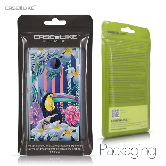 HTC U11 Life case Tropical Floral 2240 Retail Packaging | CASEiLIKE.com