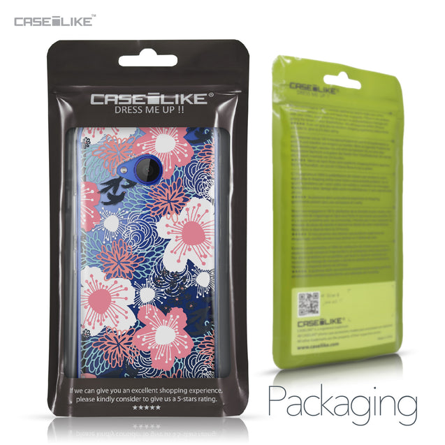 HTC U11 Life case Japanese Floral 2255 Retail Packaging | CASEiLIKE.com