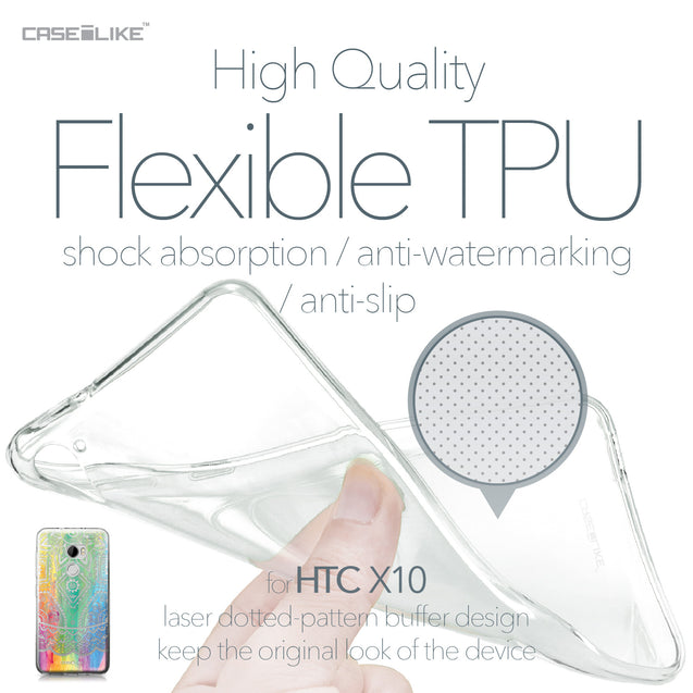 HTC One X10 case Indian Line Art 2064 Soft Gel Silicone Case | CASEiLIKE.com