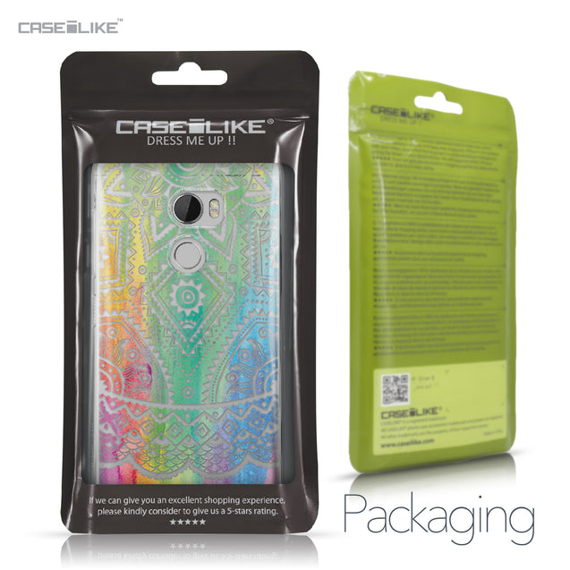 HTC One X10 case Indian Line Art 2064 Retail Packaging | CASEiLIKE.com