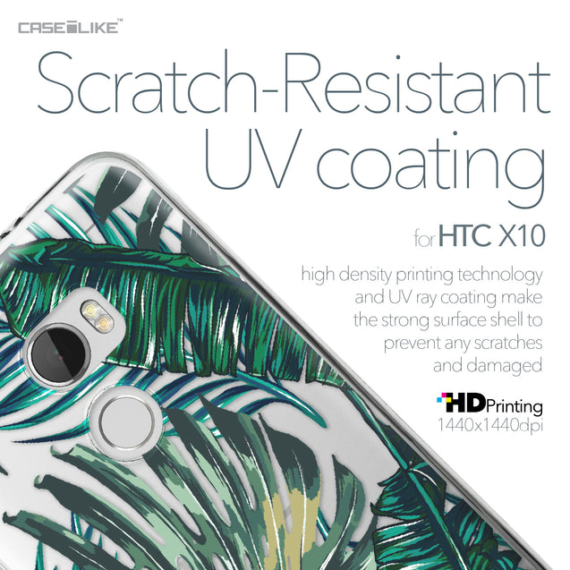 HTC One X10 case Tropical Palm Tree 2238 with UV-Coating Scratch-Resistant Case | CASEiLIKE.com