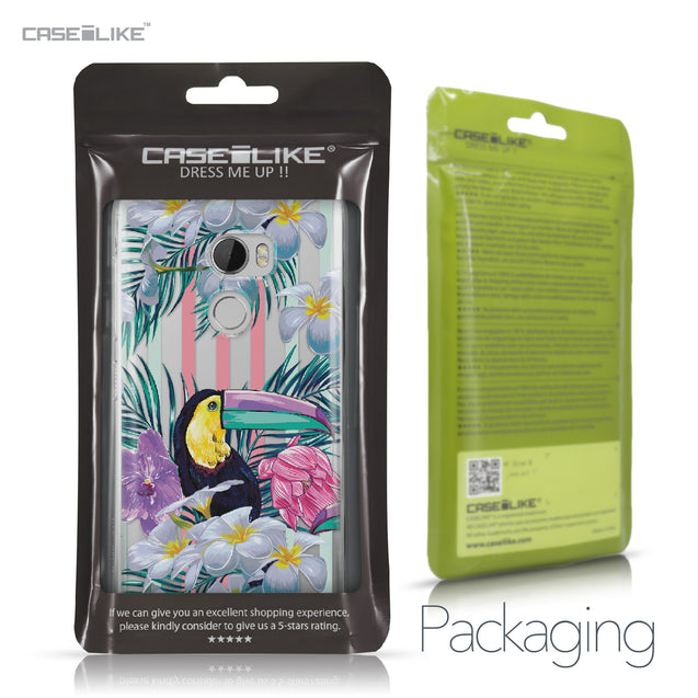 HTC One X10 case Tropical Floral 2240 Retail Packaging | CASEiLIKE.com
