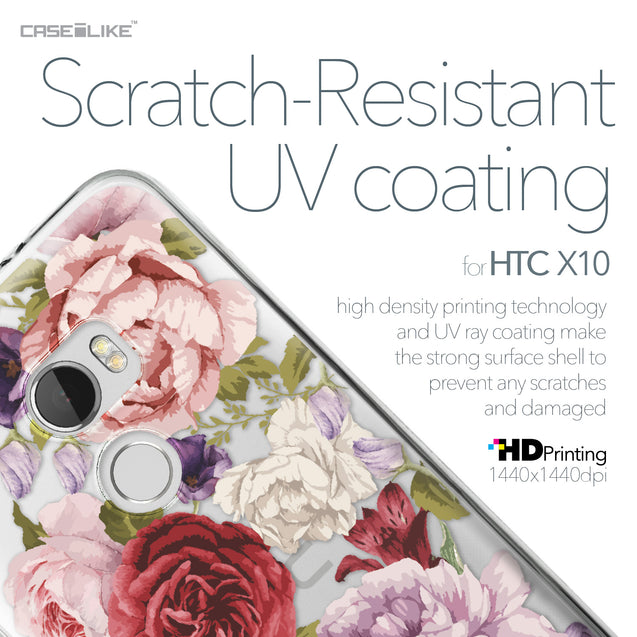 HTC One X10 case Mixed Roses 2259 with UV-Coating Scratch-Resistant Case | CASEiLIKE.com