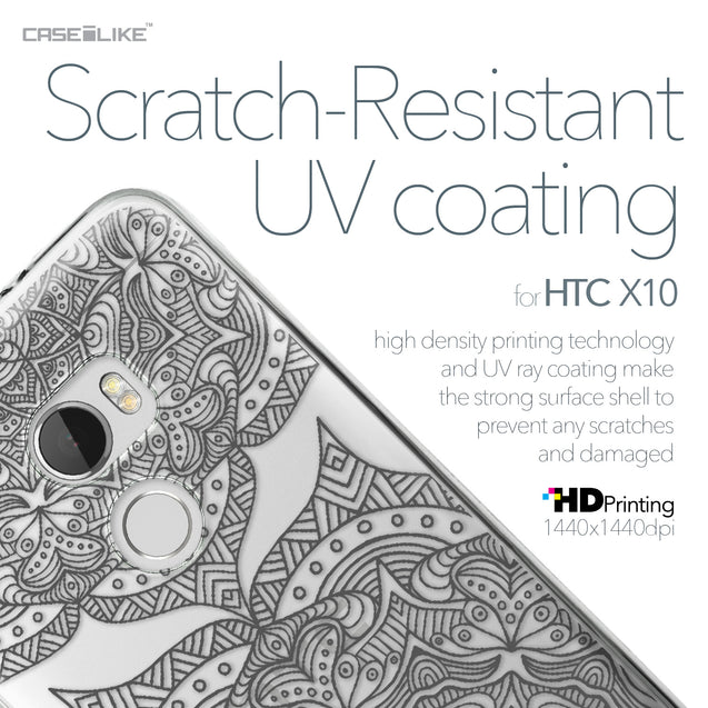HTC One X10 case Mandala Art 2304 with UV-Coating Scratch-Resistant Case | CASEiLIKE.com