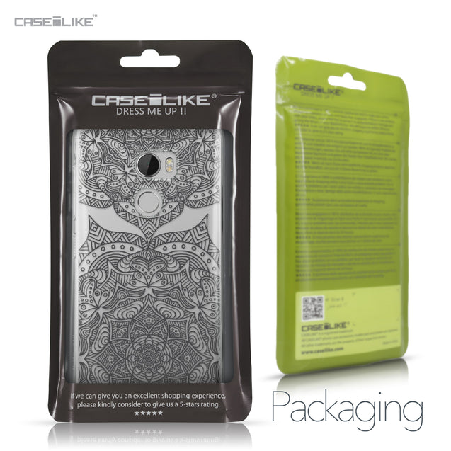 HTC One X10 case Mandala Art 2304 Retail Packaging | CASEiLIKE.com
