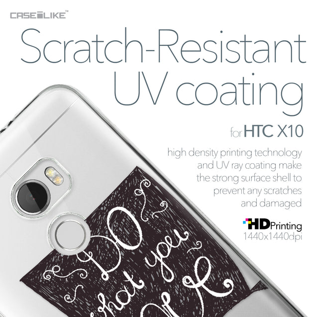 HTC One X10 case Quote 2400 with UV-Coating Scratch-Resistant Case | CASEiLIKE.com