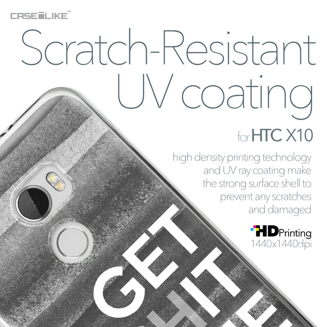 HTC One X10 case Quote 2429 with UV-Coating Scratch-Resistant Case | CASEiLIKE.com
