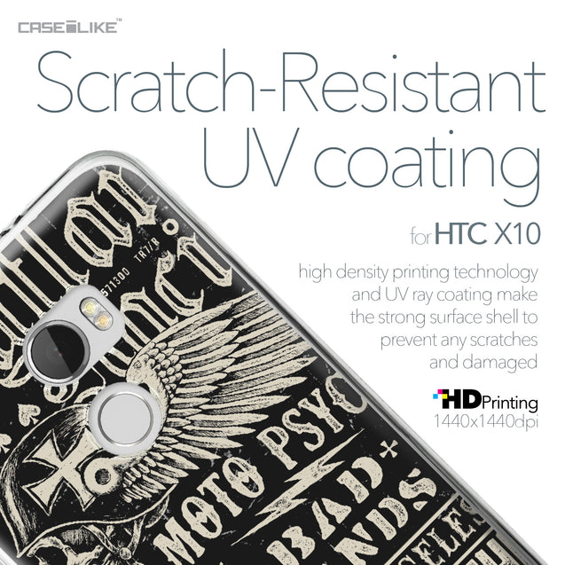 HTC One X10 case Art of Skull 2531 with UV-Coating Scratch-Resistant Case | CASEiLIKE.com