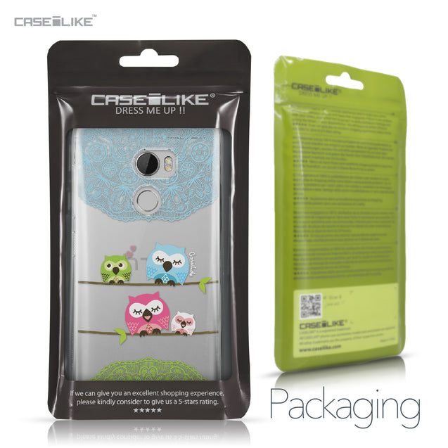 HTC One X10 case Owl Graphic Design 3318 Retail Packaging | CASEiLIKE.com