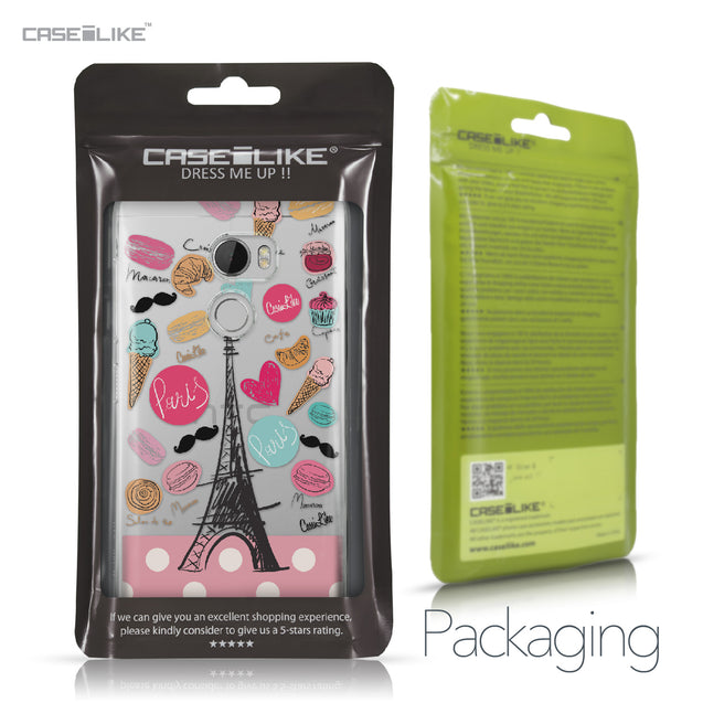 HTC One X10 case Paris Holiday 3904 Retail Packaging | CASEiLIKE.com