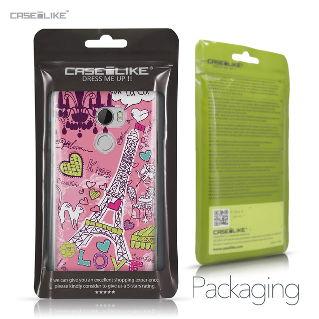 HTC One X10 case Paris Holiday 3905 Retail Packaging | CASEiLIKE.com