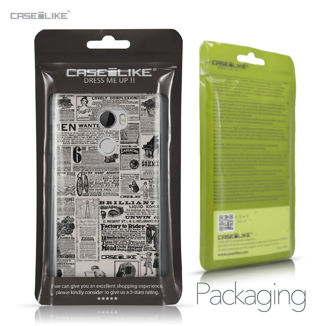HTC One X10 case Vintage Newspaper Advertising 4818 Retail Packaging | CASEiLIKE.com