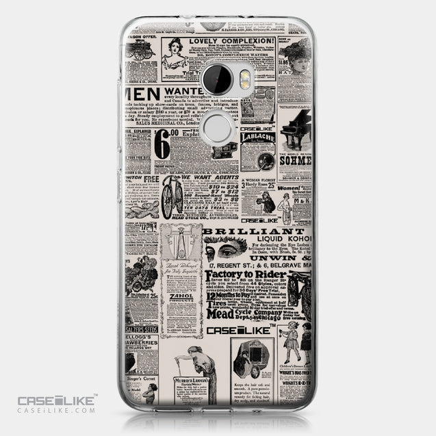 HTC One X10 case Vintage Newspaper Advertising 4818 | CASEiLIKE.com
