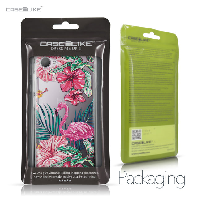 HTC Desire 12 case Tropical Flamingo 2239 Retail Packaging | CASEiLIKE.com
