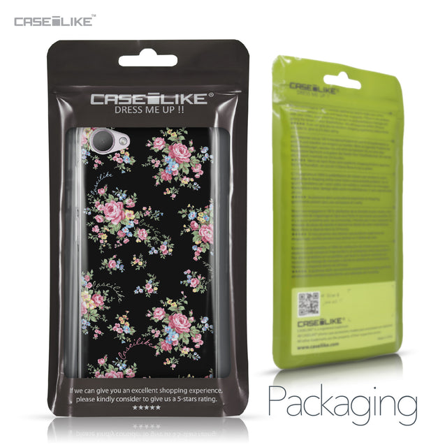 HTC Desire 12 case Floral Rose Classic 2261 Retail Packaging | CASEiLIKE.com