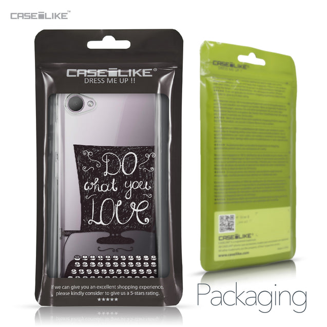 HTC Desire 12 case Quote 2400 Retail Packaging | CASEiLIKE.com