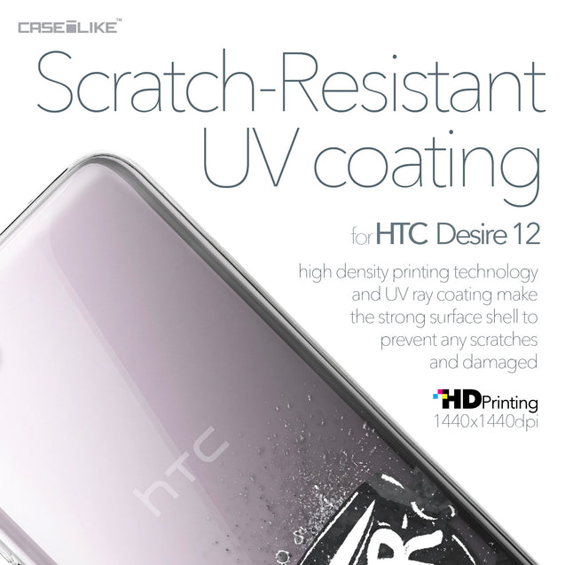 HTC Desire 12 case Quote 2402 with UV-Coating Scratch-Resistant Case | CASEiLIKE.com