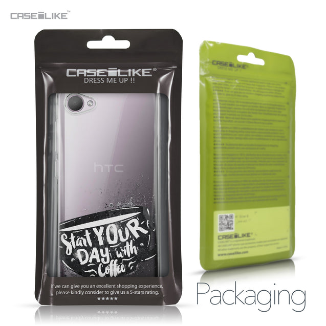 HTC Desire 12 case Quote 2402 Retail Packaging | CASEiLIKE.com
