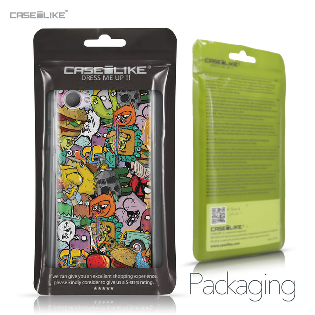 HTC Desire 12 case Graffiti 2731 Retail Packaging | CASEiLIKE.com