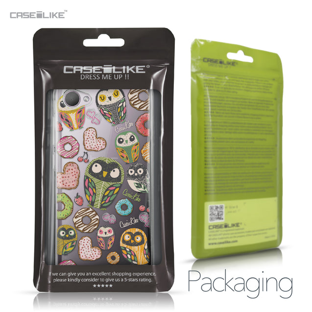 HTC Desire 12 case Owl Graphic Design 3315 Retail Packaging | CASEiLIKE.com