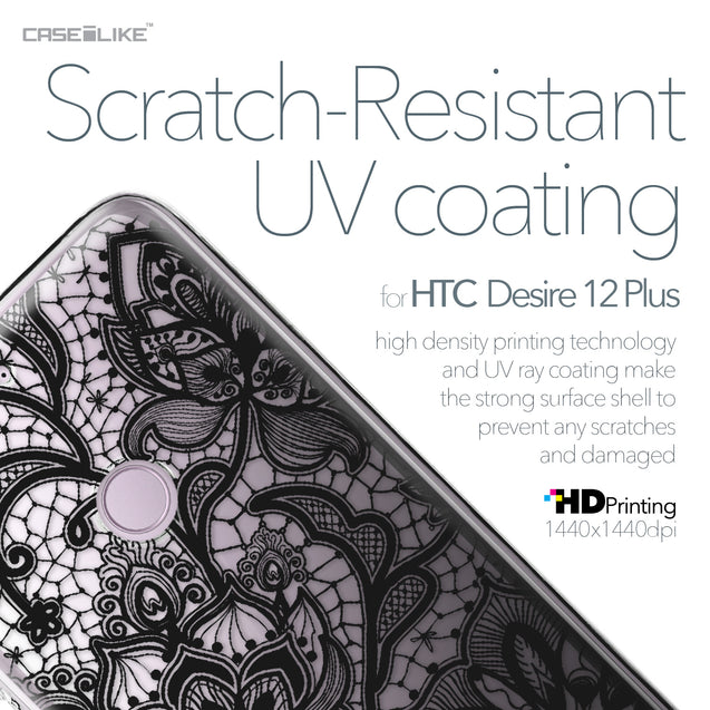 HTC Desire 12 Plus case Lace 2037 with UV-Coating Scratch-Resistant Case | CASEiLIKE.com