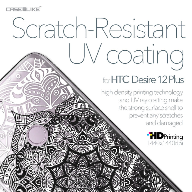 HTC Desire 12 Plus case Mandala Art 2097 with UV-Coating Scratch-Resistant Case | CASEiLIKE.com