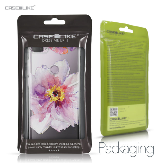 HTC Desire 12 Plus case Watercolor Floral 2231 Retail Packaging | CASEiLIKE.com