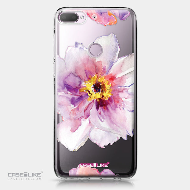 HTC Desire 12 Plus case Watercolor Floral 2231 | CASEiLIKE.com