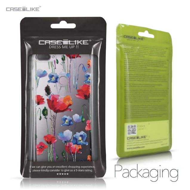 HTC Desire 12 Plus case Watercolor Floral 2234 Retail Packaging | CASEiLIKE.com