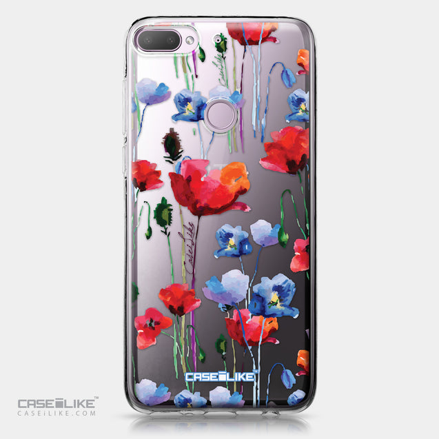 HTC Desire 12 Plus case Watercolor Floral 2234 | CASEiLIKE.com