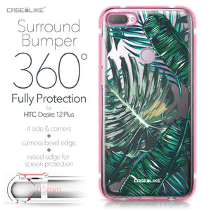 HTC Desire 12 Plus case Tropical Palm Tree 2238 Bumper Case Protection | CASEiLIKE.com