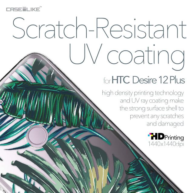 HTC Desire 12 Plus case Tropical Palm Tree 2238 with UV-Coating Scratch-Resistant Case | CASEiLIKE.com