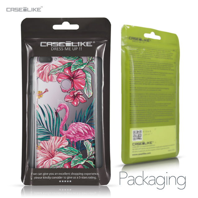 HTC Desire 12 Plus case Tropical Flamingo 2239 Retail Packaging | CASEiLIKE.com