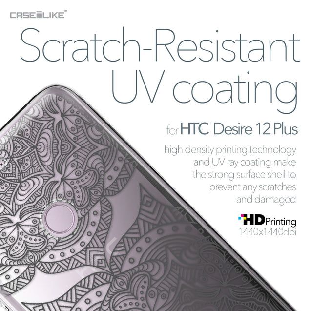 HTC Desire 12 Plus case Mandala Art 2304 with UV-Coating Scratch-Resistant Case | CASEiLIKE.com