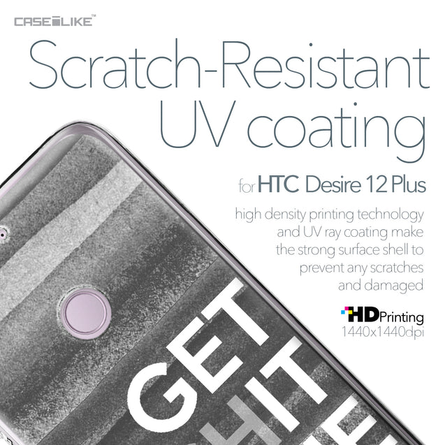 HTC Desire 12 Plus case Quote 2429 with UV-Coating Scratch-Resistant Case | CASEiLIKE.com