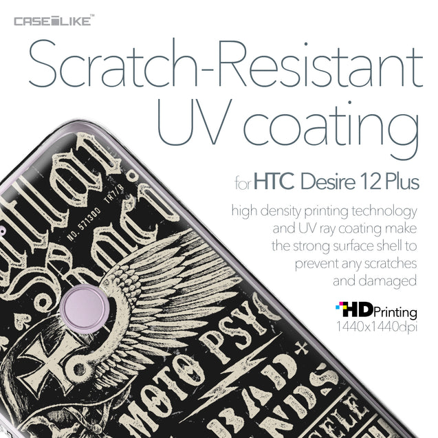 HTC Desire 12 Plus case Art of Skull 2531 with UV-Coating Scratch-Resistant Case | CASEiLIKE.com