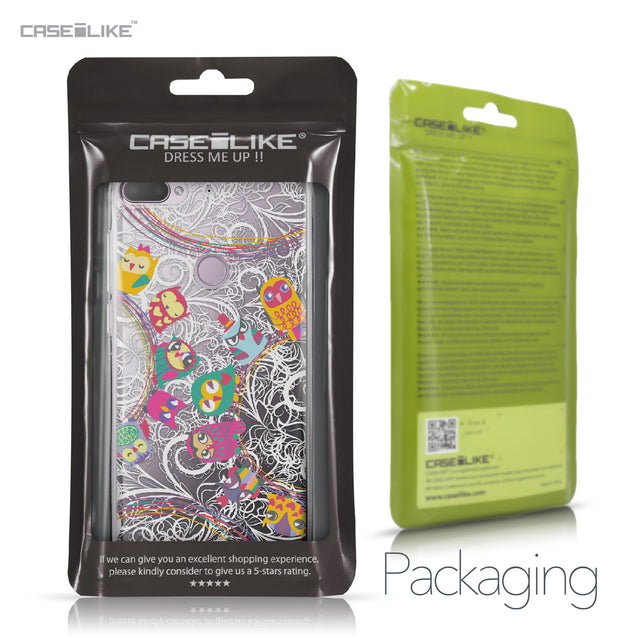 HTC Desire 12 Plus case Owl Graphic Design 3316 Retail Packaging | CASEiLIKE.com