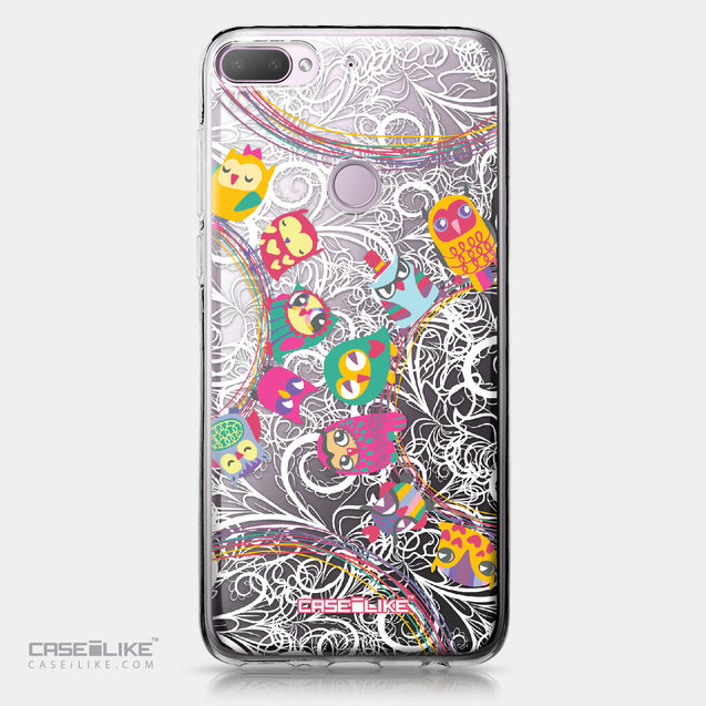 HTC Desire 12 Plus case Owl Graphic Design 3316 | CASEiLIKE.com