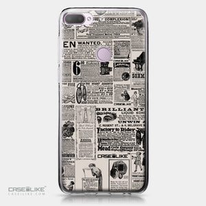 HTC Desire 12 Plus case Vintage Newspaper Advertising 4818 | CASEiLIKE.com