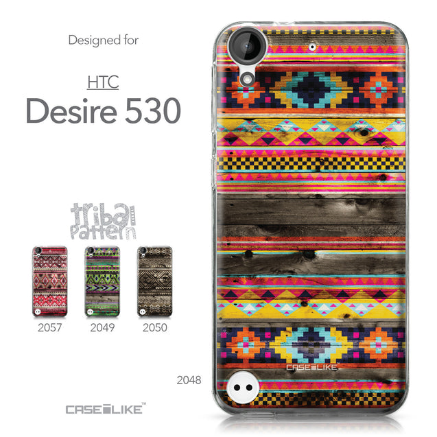 HTC Desire 530 case Indian Tribal Theme Pattern 2048 Collection | CASEiLIKE.com