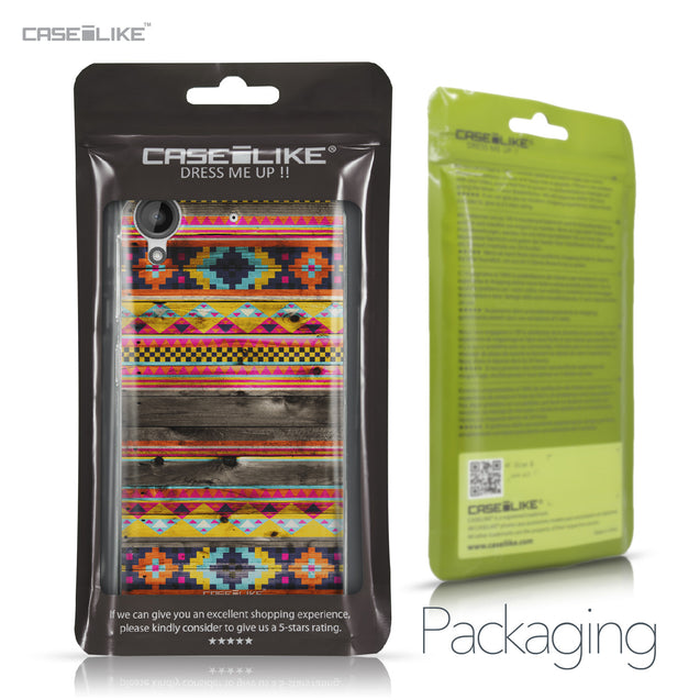 HTC Desire 530 case Indian Tribal Theme Pattern 2048 Retail Packaging | CASEiLIKE.com