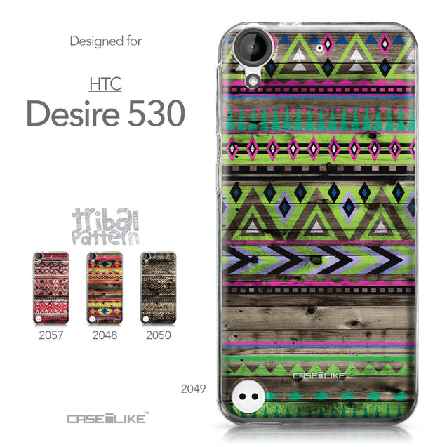 HTC Desire 530 case Indian Tribal Theme Pattern 2049 Collection | CASEiLIKE.com