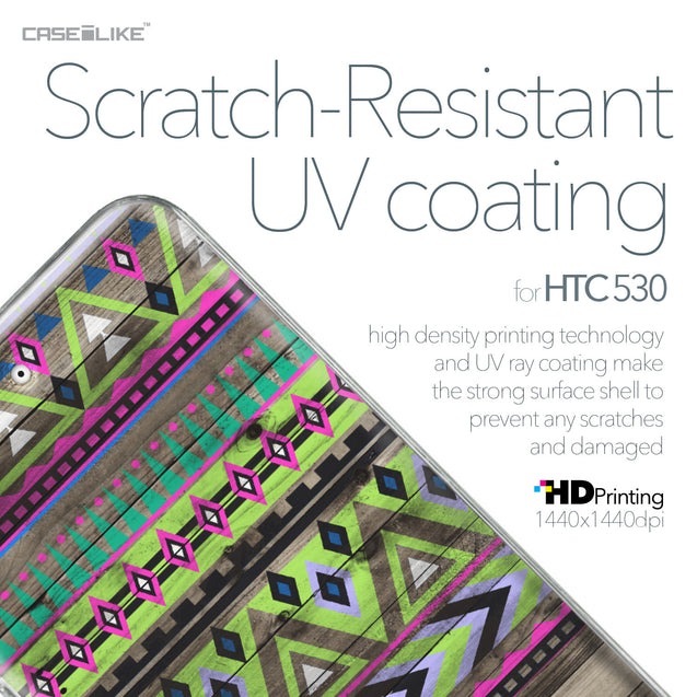 HTC Desire 530 case Indian Tribal Theme Pattern 2049 with UV-Coating Scratch-Resistant Case | CASEiLIKE.com