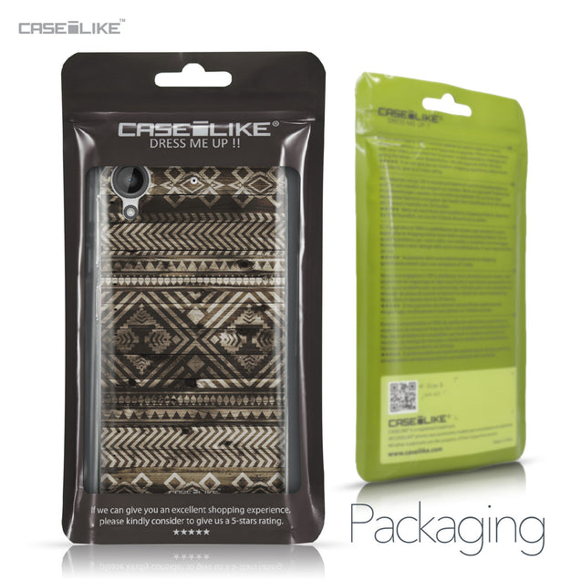 HTC Desire 530 case Indian Tribal Theme Pattern 2050 Retail Packaging | CASEiLIKE.com